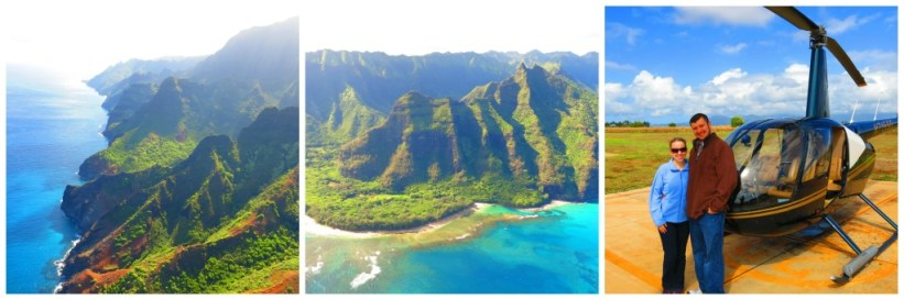 Viewing Na Pali by air with Maua Loa Helicopters