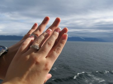New rings sparkle in the Alaskan landscape!