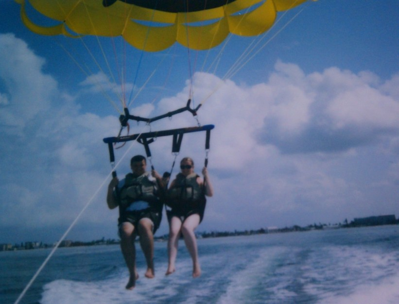Parasailing adventure!
