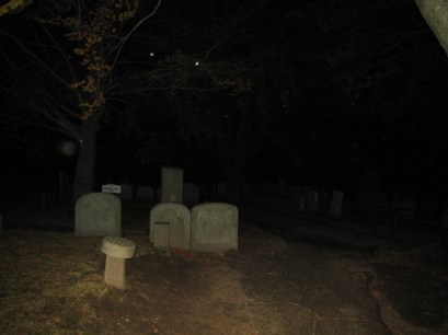 Orbs on Burial Hill