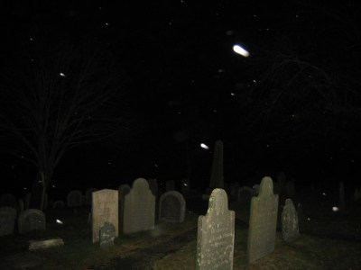 Ghosts in the Cemetery, Plymouth