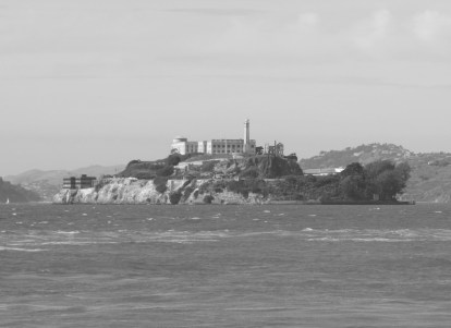 October 2013: Vacant Alcatraz, sitting silently in the San Francisco Bay.
