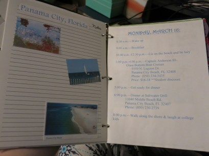 Super travel binder of awesome