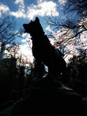 I found Balto in Central Park!