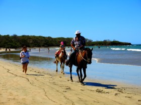 Horses on Playa Tamarindo
