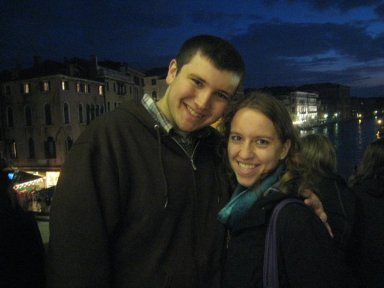 Just engaged in Venice, Italy.
