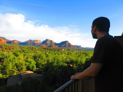 View from the Orchards Inn of Sedona.