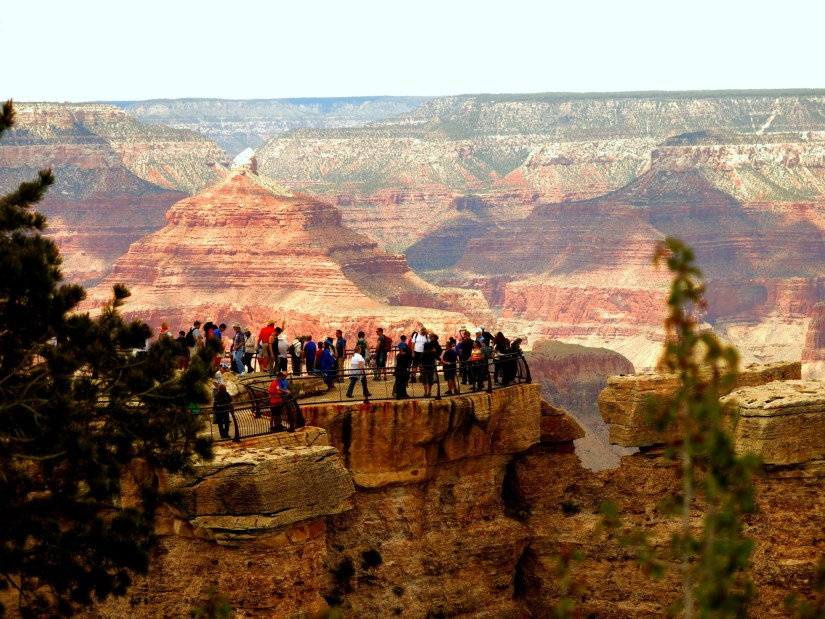 Viewing at Mather Point.