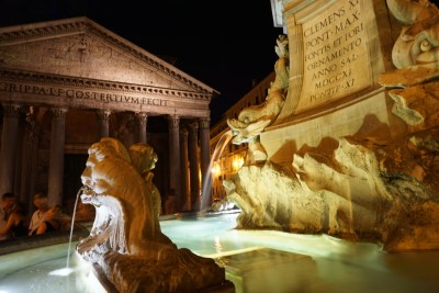 The Pantheon: My very favorite spot in Rome.