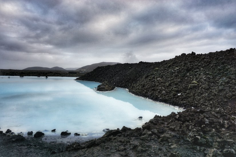 Just outside the Blue Lagoon.
