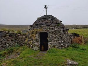 Beehive hut used as a filming location in Star Wars.