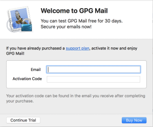 GPGMail Popup