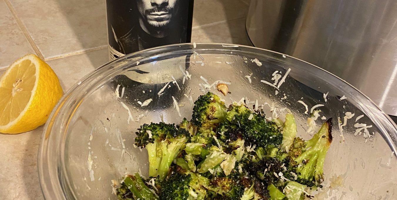 The Best Roasted Broccoli with Lemon and Parmesan