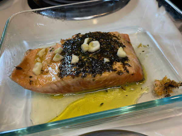 Salmon Ready to Bake