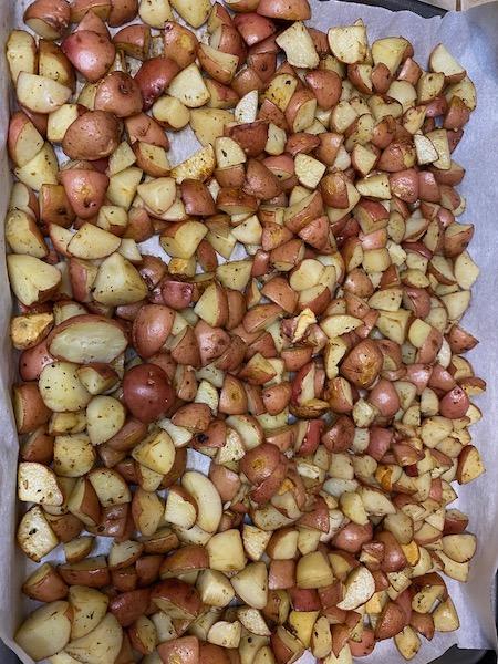 Roasted Organic Red Potatoes
