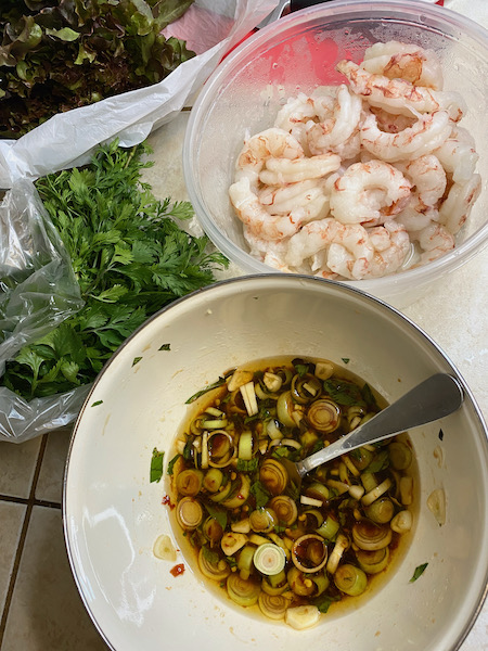 Lemongrass Fish Sauce Marinade