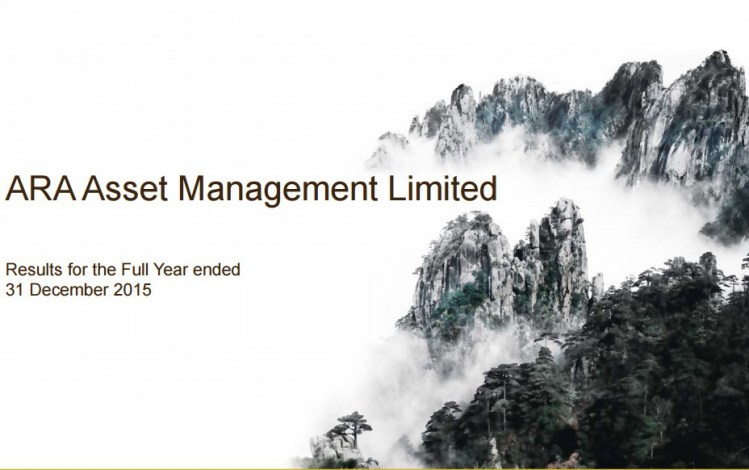 cover e1454755140510 - 6 points to note from ARA Asset Management's 2015 Full Year Report.