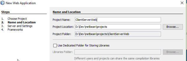 Http Client server application GET/POST in Java Example