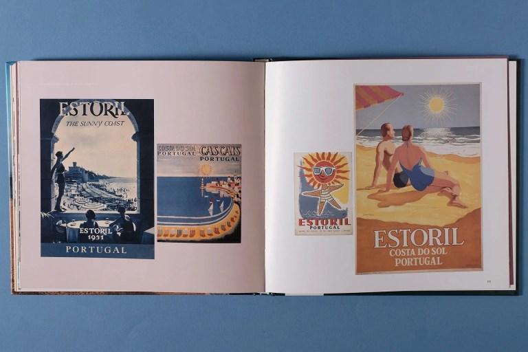 interior cartazes Estoril Vanguarda Turismo