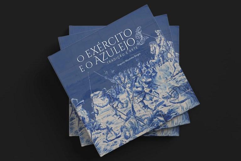 capa do livro O Exercito e o Azulejo