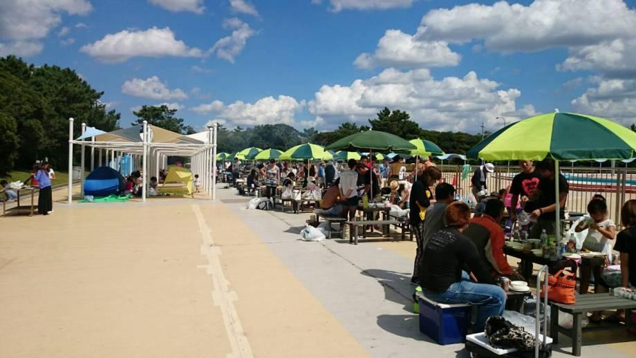 稲毛海浜公園BBQ