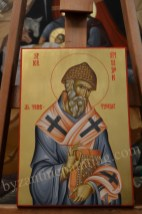 Saint Spyridon of Trimythous, byzantin icons for sale