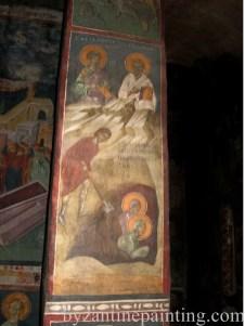 Mural painting Gracanica monastery (6)