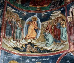 Mural painting from the Cozia Monastery (38)