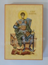 Saint Demetrios of Thessaloniki-byzantine icon