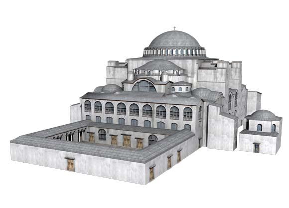 rekonstrukcja Hagii Sophii