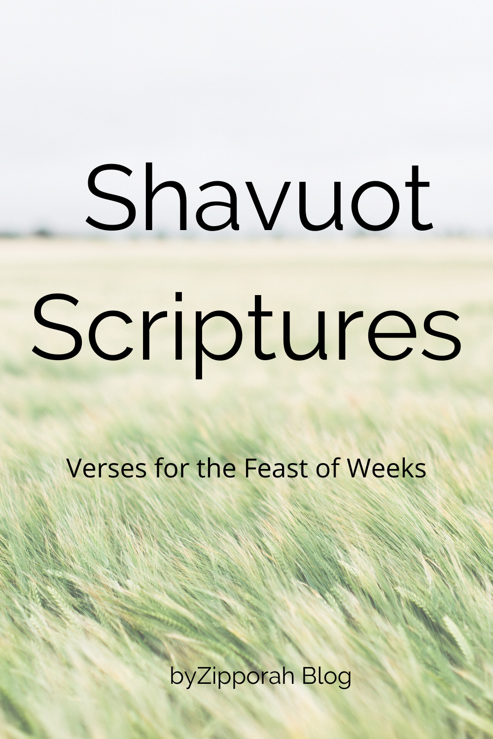 Scripture Reading for Shavuot