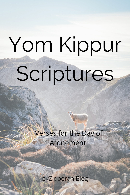 Scriptures for Yom Kippur