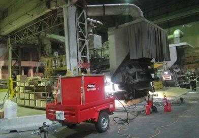 Bolzano, perdita di alluminio in azienda: intervengono i vigili del fuoco