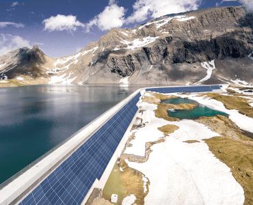 Solar in Alpen