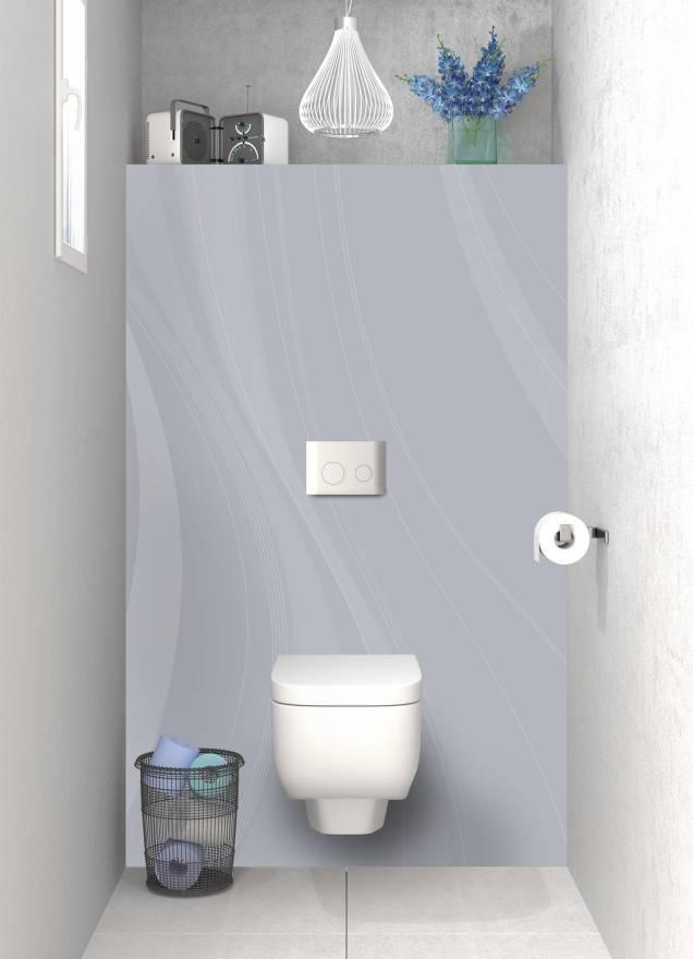 panneau de wc sur mesure voilage