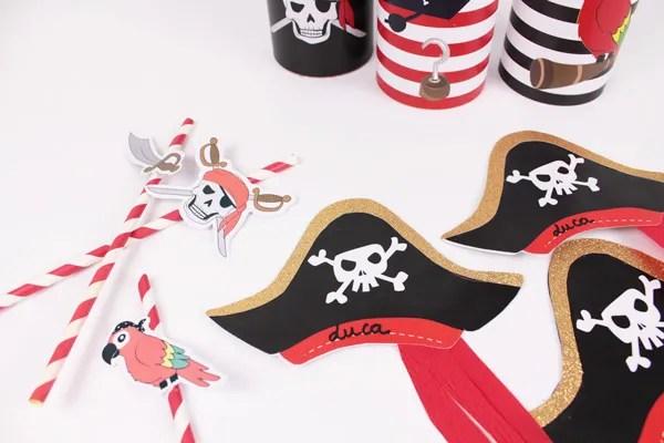 diy invitations d anniversaire pirate