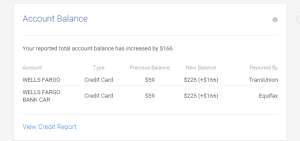 Sudden credit card balance increase causes scores to drop in june