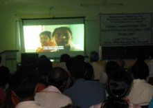 The Dibrugarh screening at DRDA Training Hall
