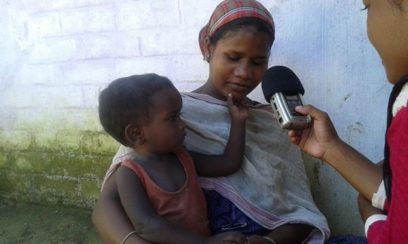 A pregnant women shares her health and other issues with the Radio Brahmaputra team.