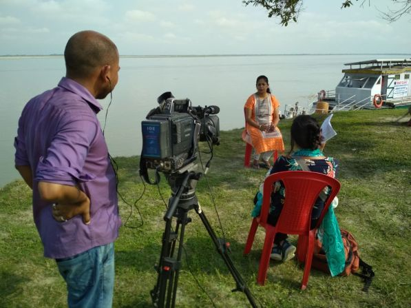 Loksabha TV's coverage of the Jorhat Boat Clinic