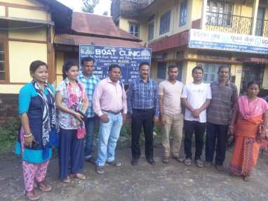 With Goalpara Boat Clinic