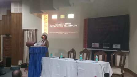 Ms. Niyati Singh presenting the report