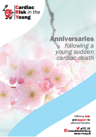 Anniversaries Booklet - front cover