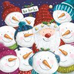 Santa with Snowmen website