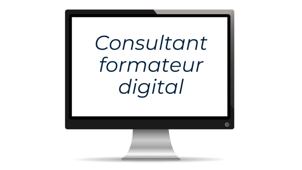 La Formation Consultant Formateur Digital