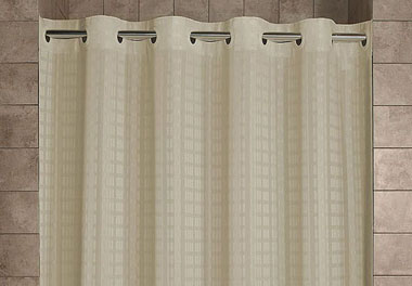 hookless shower curtains cubicle