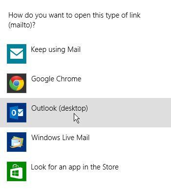 choose a mail client