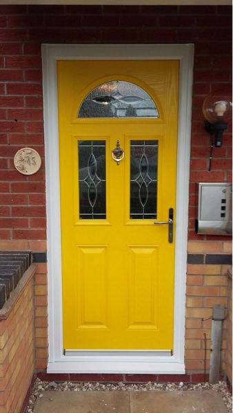 A Selection Of Composite Front Door Styles C Thru Windows