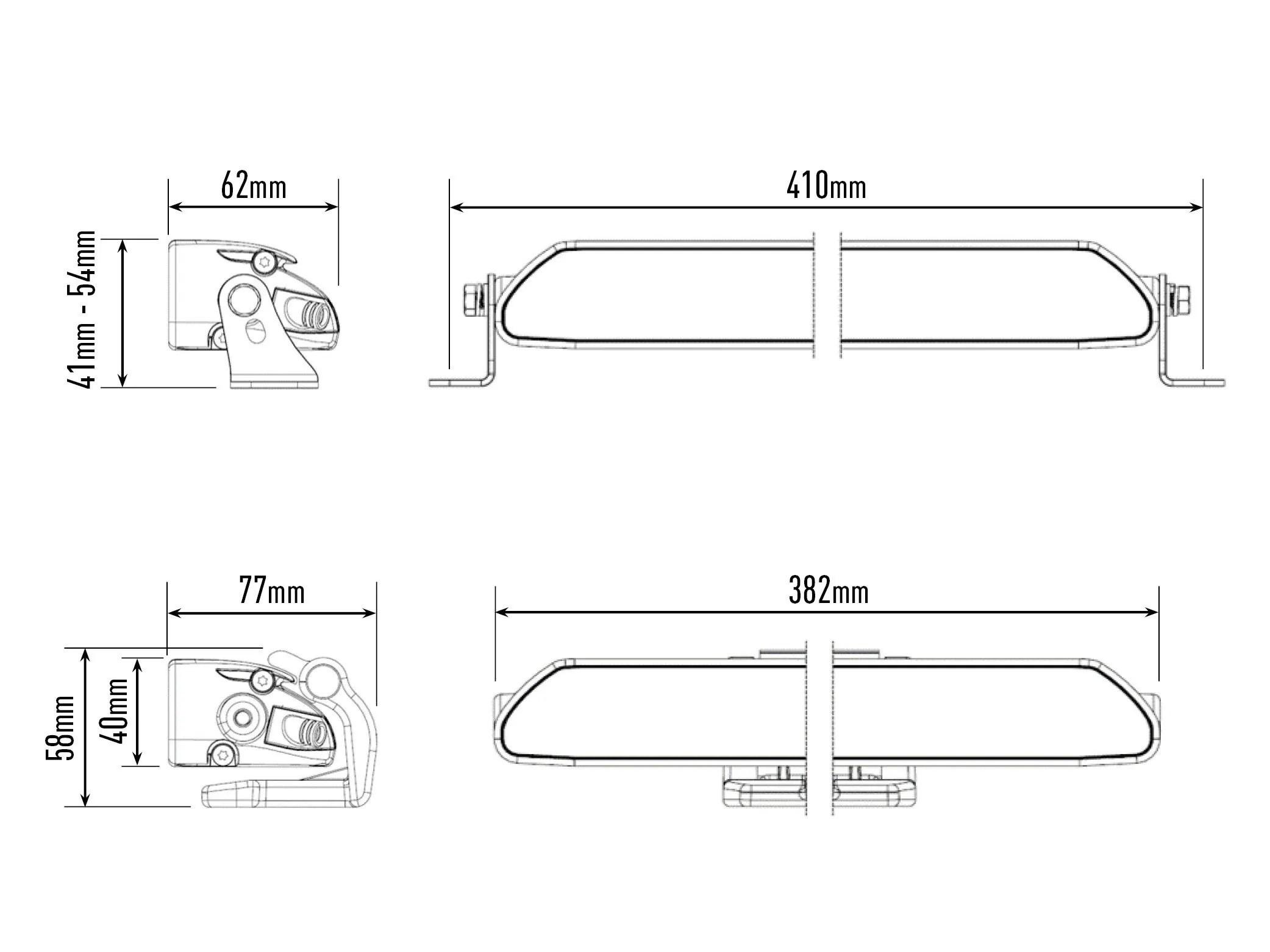 Lazer Lamps Linear 12 Elite