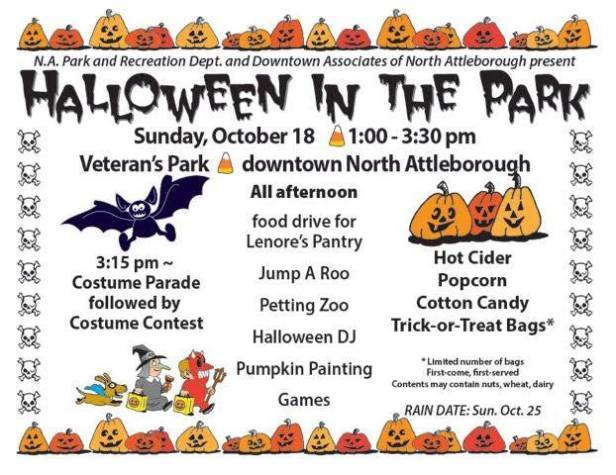 Join Us For Halloween In The Park